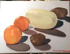 Oranges, squash, & potatoes
