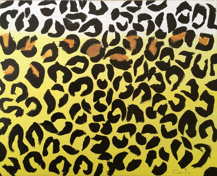 Yellow and brown cheetah - Cris