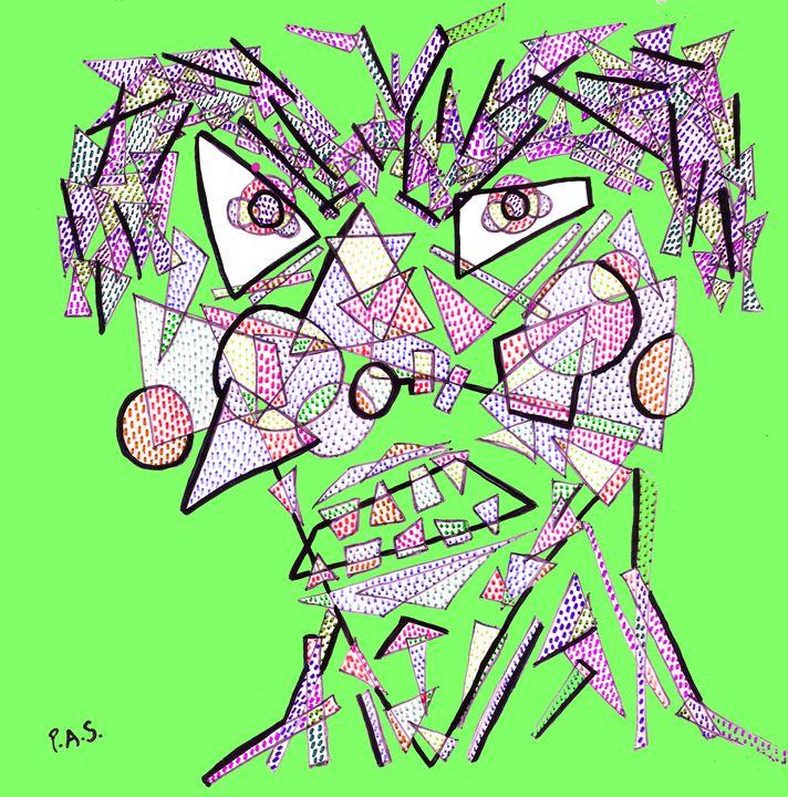 Geometrulio Green - Arte & PAS