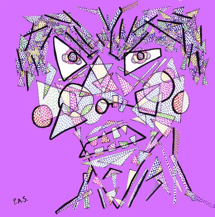 Geometrulio Purple - Arte & PAS