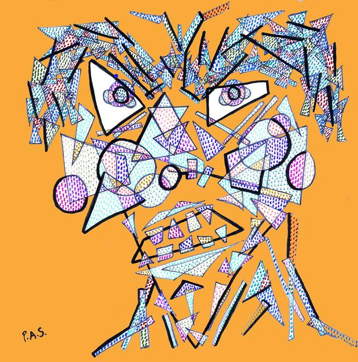 Geometrulio Orange - Arte & PAS