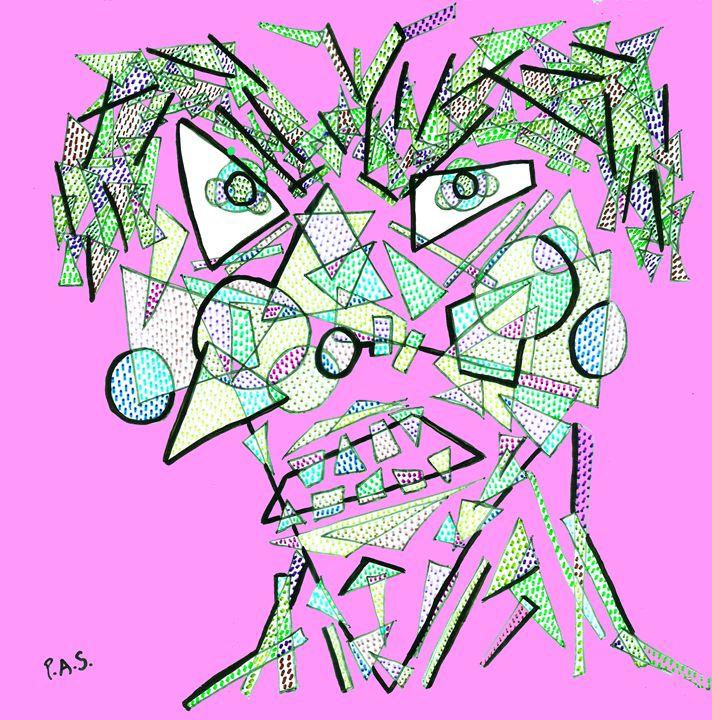 Geometrulio Pink - Arte & PAS