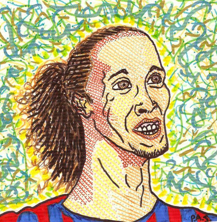 Ronaldinho Gaúcho - Arte & PAS
