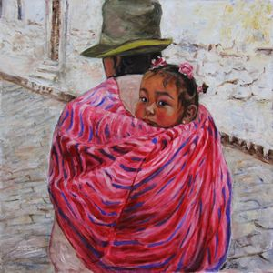 A Bundle Buggy Swaddle - Peru