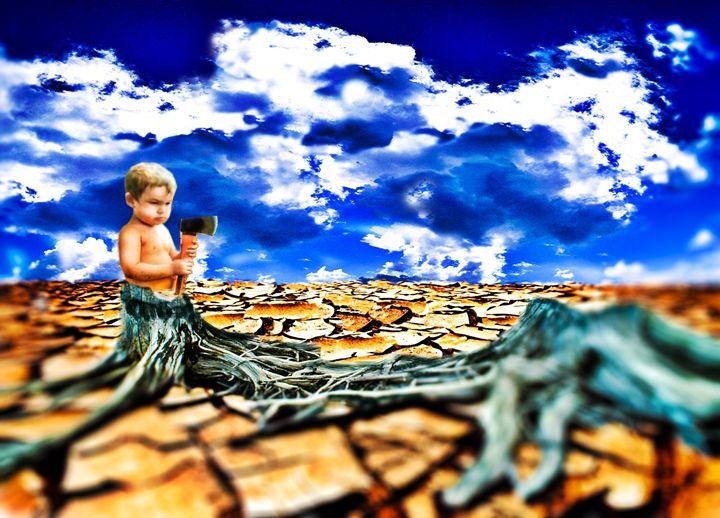 Self Destruction - Liz Vergara