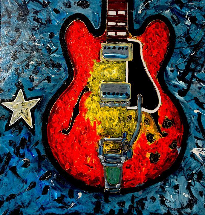 Guitar Star - Neal Barbosa Art