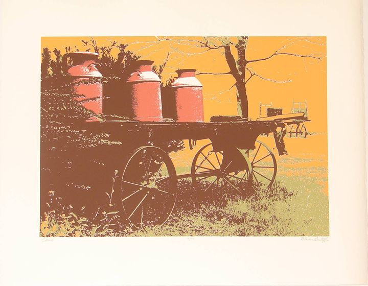 CANS - Original Fine Art by Marion Lantaff