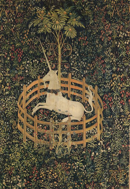 The Unicorn in Captivity - The Antique Collection