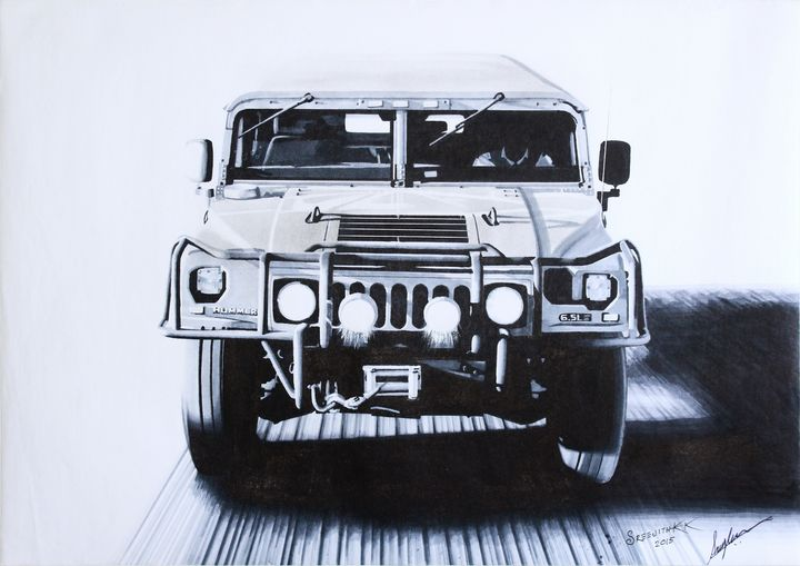 Humvee - Sreejith's Car Drawings