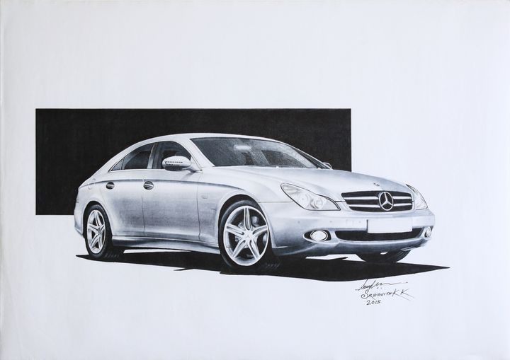 Mercedes Benz CLS 2008 - Sreejith's Car Drawings