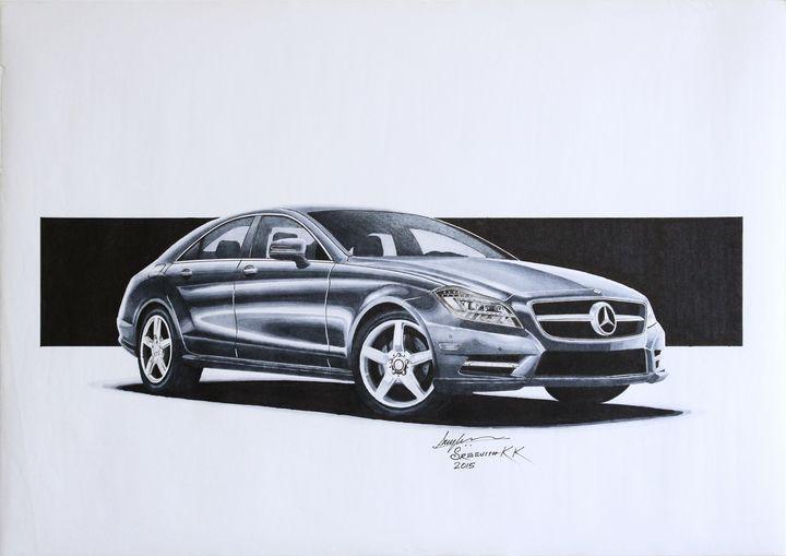 Mercedes Benz CLS 2011 - Sreejith's Car Drawings