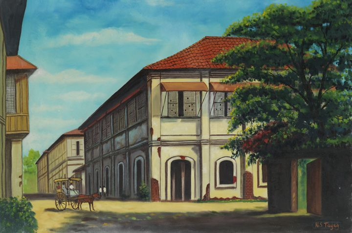 Heritage Houses in the Philippines - Geronimo's Paintings