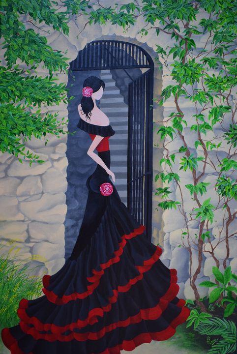 Spanish Rose - Kelly Marie Davidson