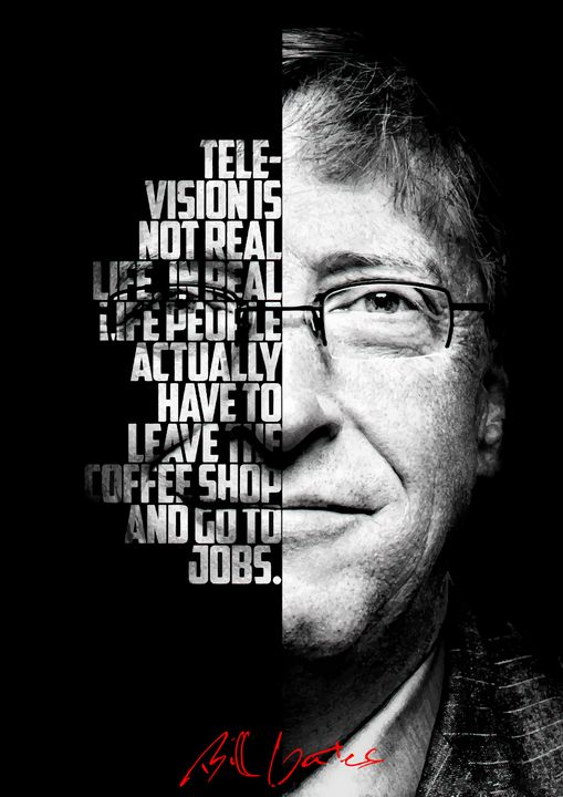 Bill Gates inspirational quote. - Enea Kelo