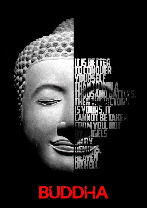 Buddha Quote poster - Enea Kelo