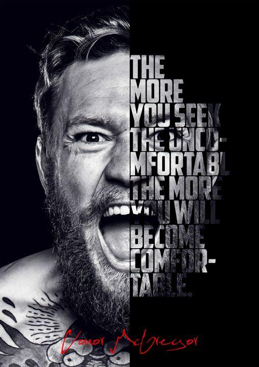Conor McGregor motivational poster. - Enea Kelo