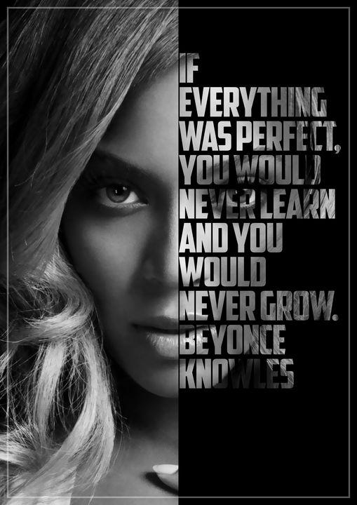 Beyonce Text Art - Enea Kelo
