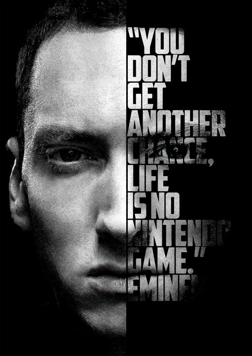 Eminem Inspirational quote - Enea Kelo