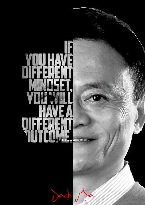 Jack Ma quote poster - Enea Kelo