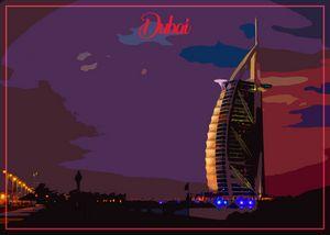 Dubai Painting