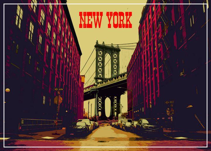 Dumbo, New York - Enea Kelo