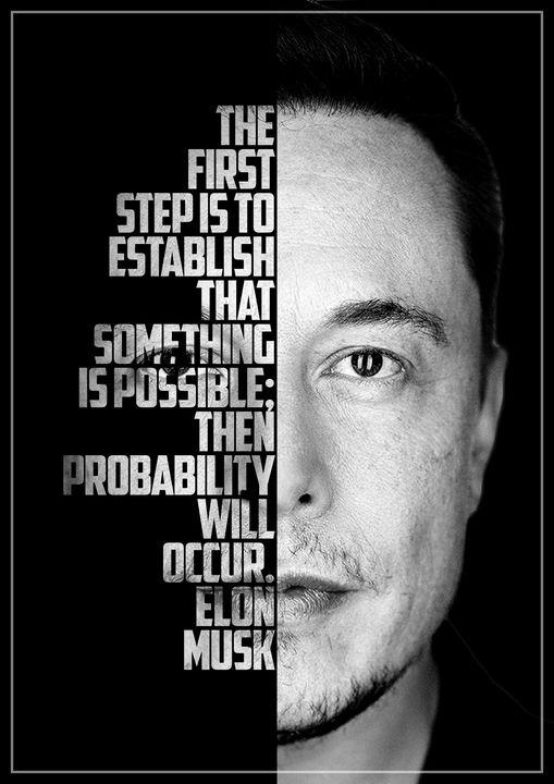 Elon Musk Quote - Enea Kelo
