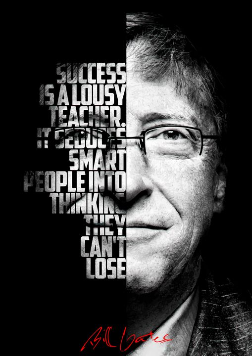 Bill Gates inspirational quote. - Enea Kelo