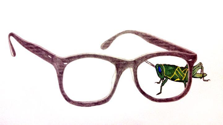 Grasshopper I see you - Magic Man McGann