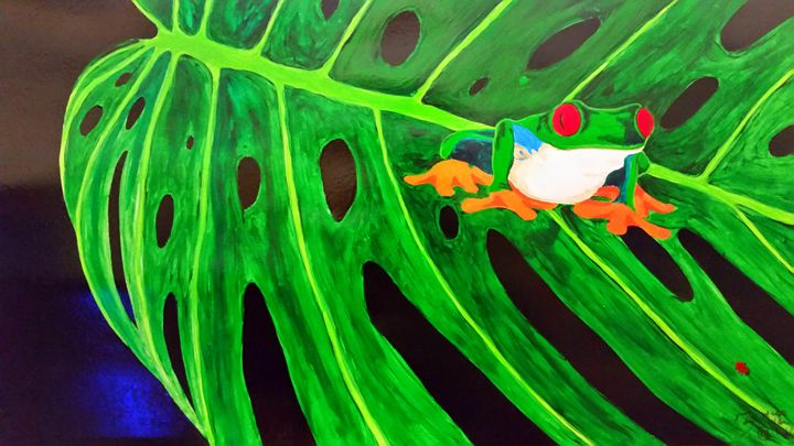 Tree Frog - Magic Man McGann
