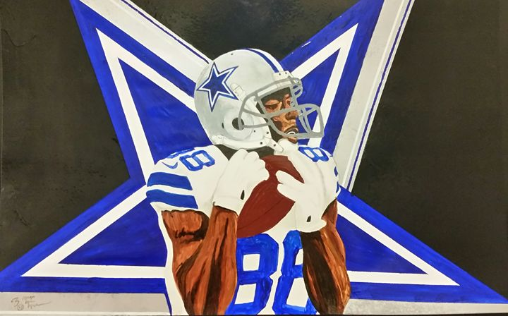 "Dez Bryant ""Cowboys"" - Magic Man McGann"