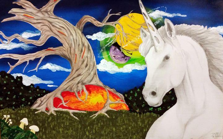 A unicorns world - Magic Man McGann