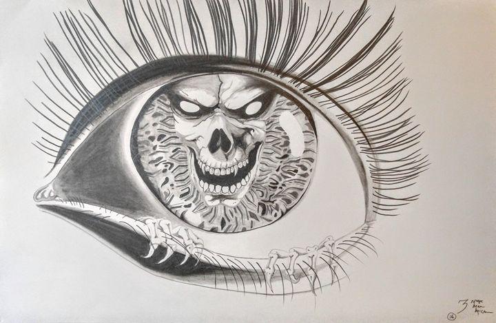Evil Eye - Magic Man McGann