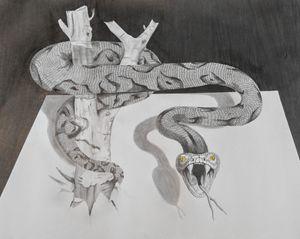 3D Poison Snake
