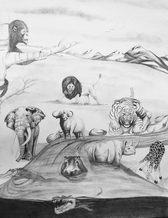 African Animals - Magic Man McGann