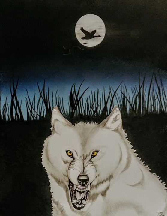 White wolf - Magic Man McGann