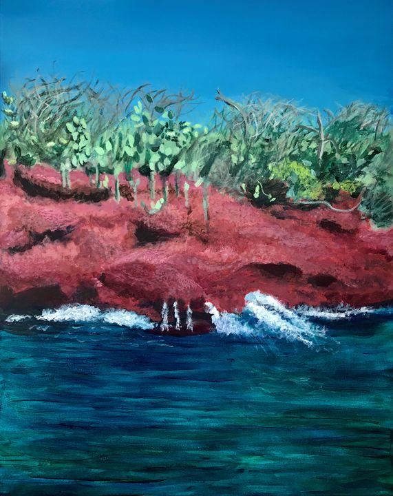 Red Sand Island - Suzan Ok