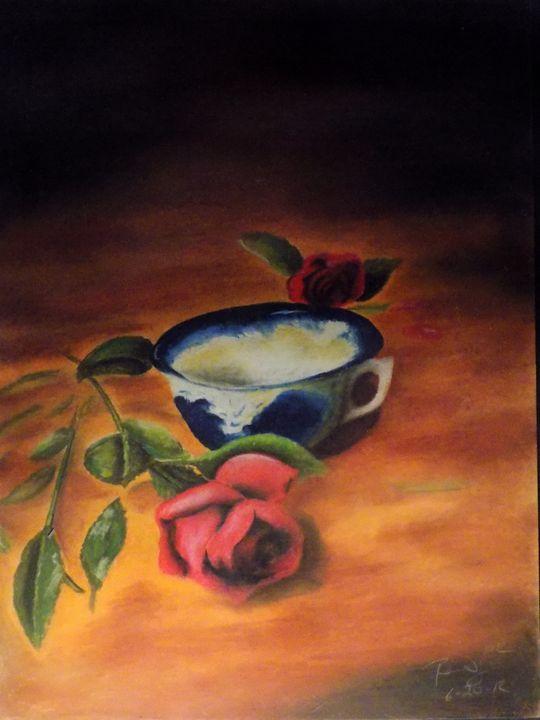 Tea & Roses - McClellan Free Inside Art