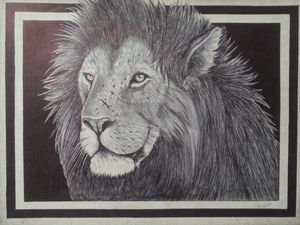 Winning Lion - McClellan Free Inside Art