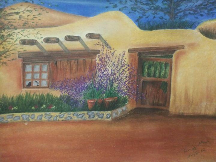 Desert Home - McClellan Free Inside Art