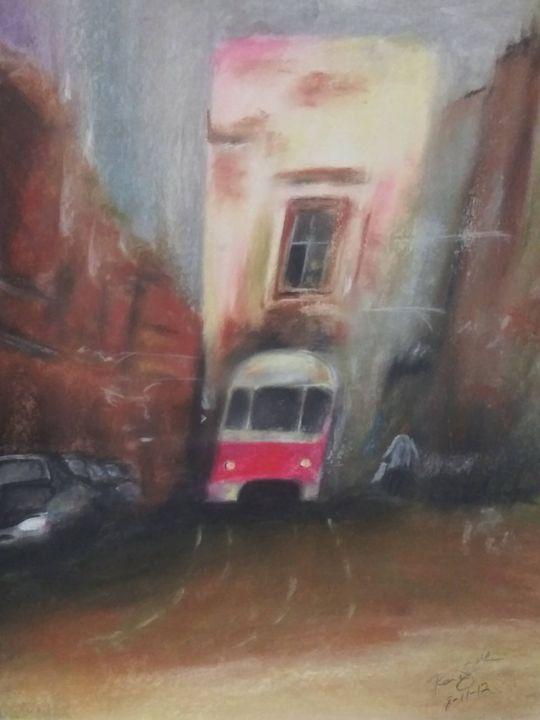 Catch the Bus - McClellan Free Inside Art