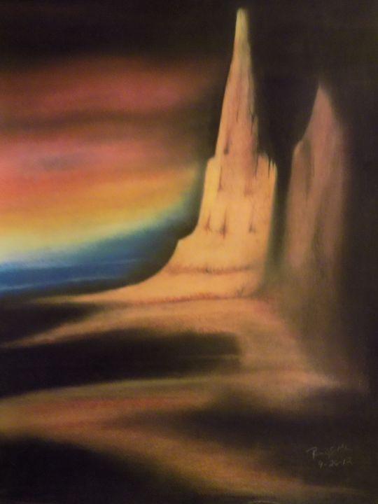 Abstract Sunset - McClellan Free Inside Art