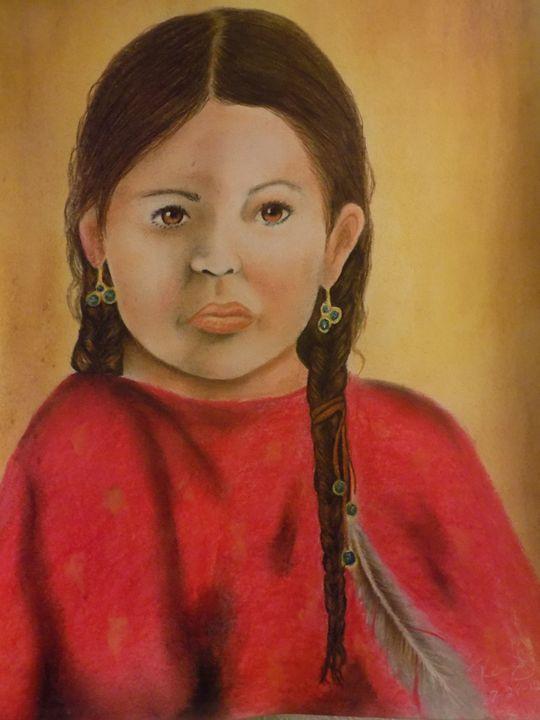 Child Portrait - McClellan Free Inside Art