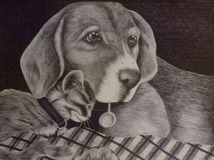 Puppy Love in Pen
