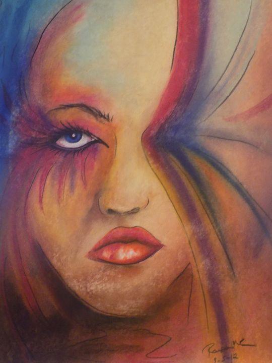 Butterfly Portrait - McClellan Free Inside Art