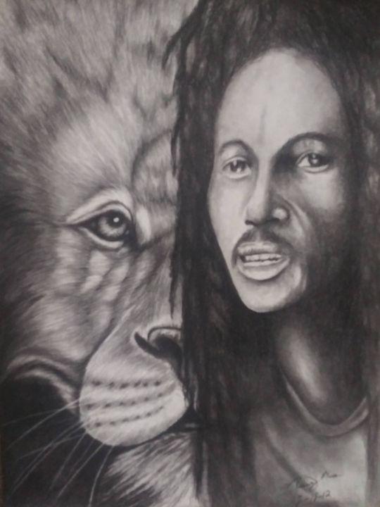 Marley Lion - McClellan Free Inside Art