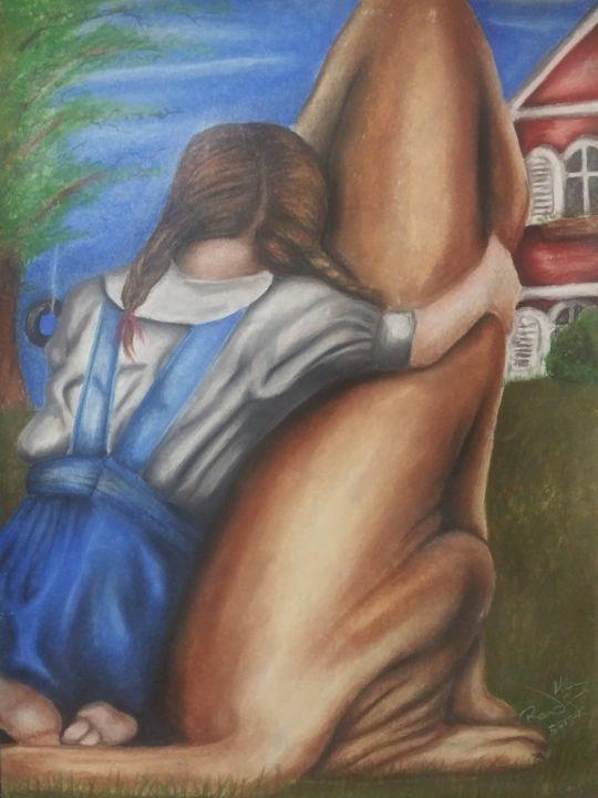 Girl's Best Friend - McClellan Free Inside Art