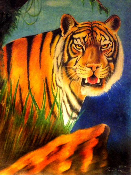 Tiger1 - McClellan Free Inside Art