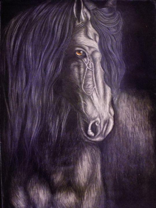 Horse1 - McClellan Free Inside Art