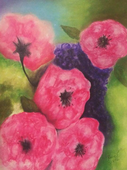 Pretty Poppy - McClellan Free Inside Art