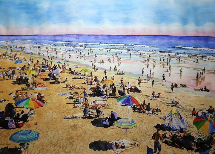 A day at the beach - Rachel Ondrak Studio